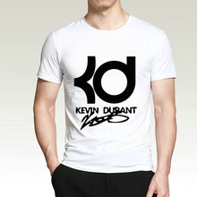 New 2017 Fashion Funny Tee Shirt Hipster Summer T Shirt Crew Neck Kd Basketballer Short Printing Machine T Shirts For Men