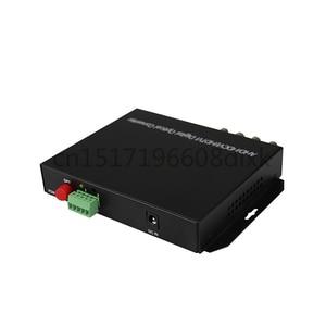 Image 5 - HD video AHD CVI TVI Fiber optical converter, 4 CH 720P 960P video fiber optic transmitter with reverse RS485 data