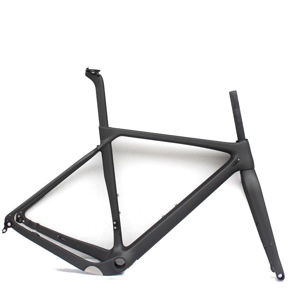 Super Light Gravel Bike Frame Disc brake 142 12 Full Carbon Gravel Bicycle Frame 700 40c