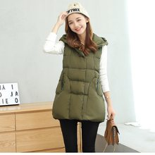 New autumn/winter women's jacket vest down jacket maternity clothing pregnant jacket sleeveless coat 2019(China)