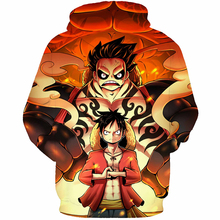 One Piece Men's Hoodie With 3D Print
