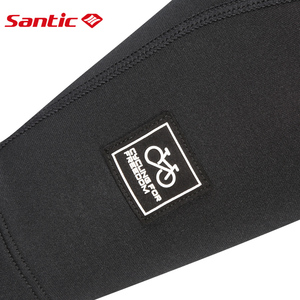 Image 5 - Santic Cycling Arm Warmers Winter Thermal Arm Sleeve Outdoor Sport Basketball Baseball Keep Warm Arm Sleeves Asia S XL W7C09072