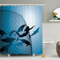 Mermaid ديكور ستارة رقما mermaid الإنقاذ هروب الدلافين من الحرية غواص الصيد صافي حمام الملحقات