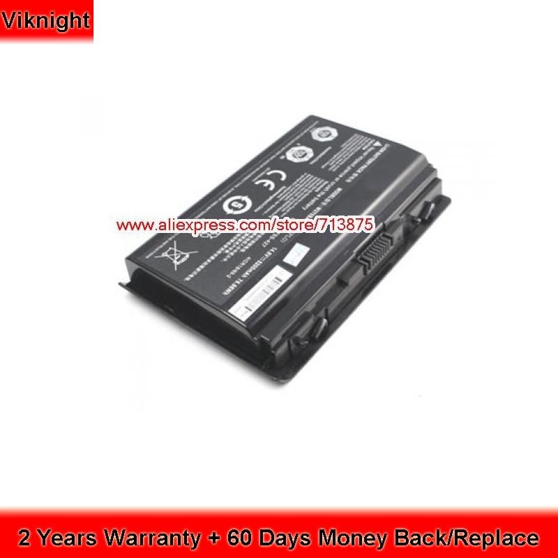 Original Clevo 6-87-W37SS-427 W370BAT-8 Battery for W350ET W350ST M01907 M00501 W370 W370ET XMG A722 NP6350 Laptop original rechargeable clevo w370bat 8 li ion battery 6 87 w370s 4271 6 87 w37ss 427 k590s laptop battery 14 8v 5200mah 76 96wh