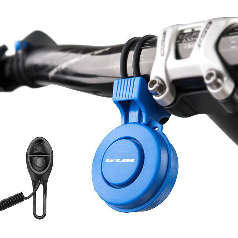 GUB Electric Bicycle Bell USB Charge Bike Bell 120db Handlebar Ring Bell Sounds Safety Waterproof Cycling Alarm Horns Speaker