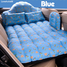 Car Oxford Cloth Travel Bed Camping Inflatable Air Mattress Outdoor Multifunctional Back Seat with Air Pump Travel Camping