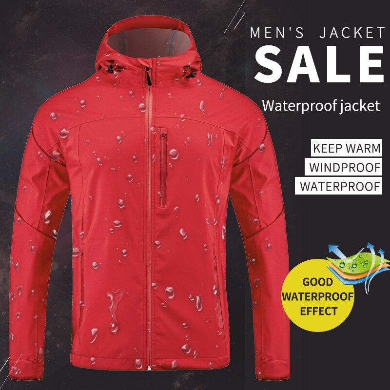 Veste d'extérieur homme veste légère et coupe-vent imperméable respirante veste homme extérieur voyage alpinisme