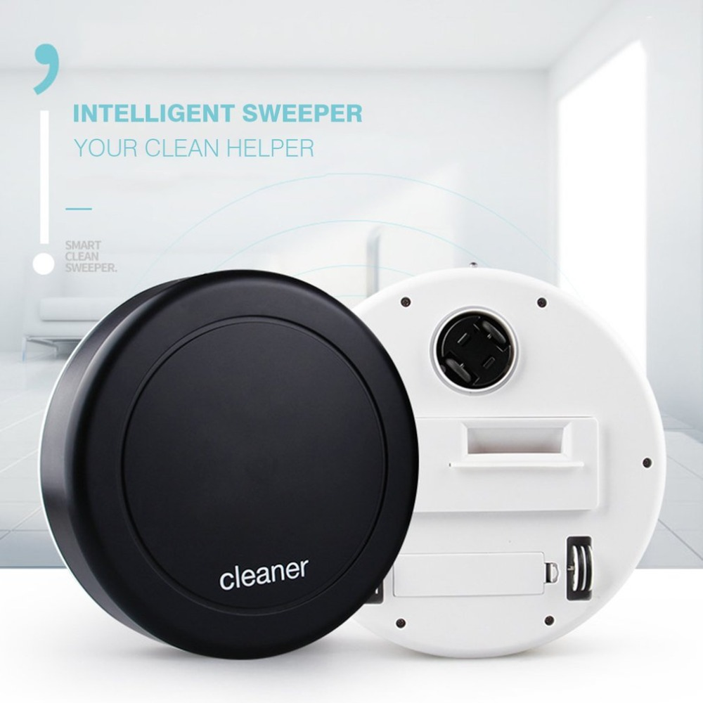 Auto Steering Smart Cleaning Robot Noiseless Auto Floor Dust Dirt Vacuum Cleaner 360-degree Rotation Sweeping Machine
