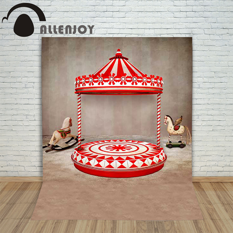 Christmas background for photos Horse wings amusement park retro backdrop photography children's shoots Customize photocall christmas background for photos pure white snowman pine cones backdrop photography children s photo shoots customize photocall