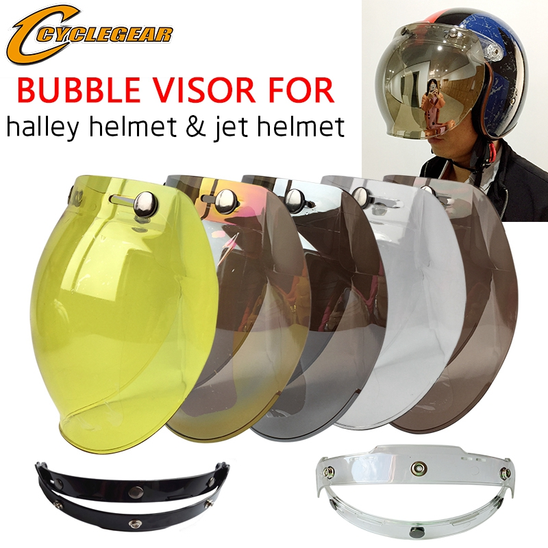 5 Colors EVO Motorcycle Helmet Visor Shield Retro Hallar Helmet Mask - Motorcycle Accessories and Parts