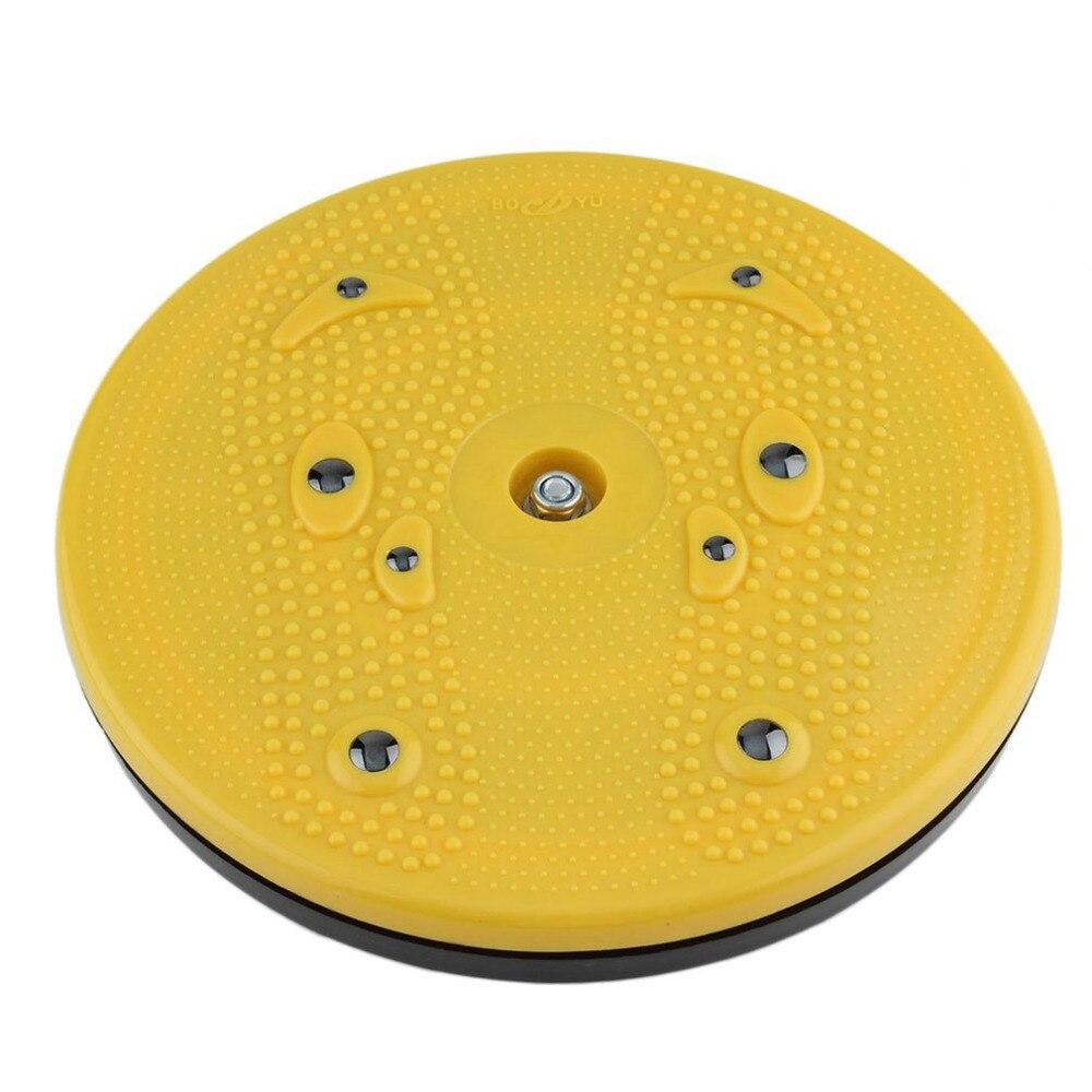 2018 Practical Twist Waist Torsion Disc Board Magnet Aerobic Foot Exercise Yoga Training Health Twist Waist Board