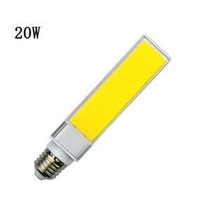 Image 4 - LED Bulbs 10W 15W 20W E27 G24 Corn Lamp SMD COB White Warm White Spotlight 180 Degree AC110V 220V Horizontal Plug Light Lampada