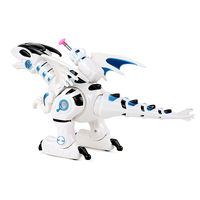 Electric Dinosaur Model Toy Intelligent Dinosaur Robot Remote Control Lifelike Sound Toy Figures Cool Toys For Children 0830A