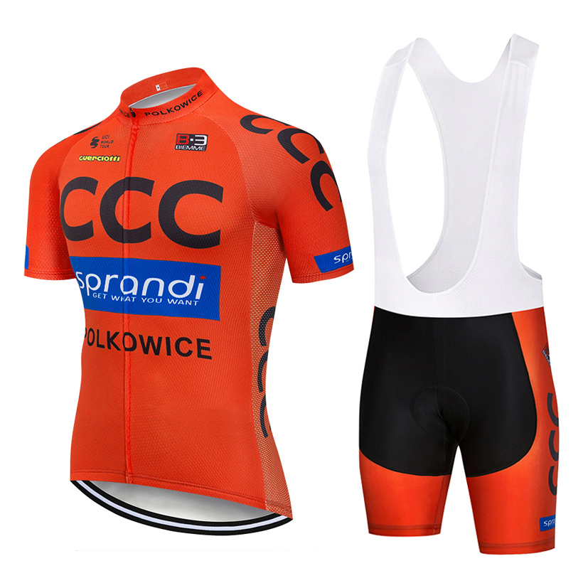 UCI team 2018 ORANGE C cycling jersey Bike shorts set MTB mens summer ropa ciclismo cycling wear pro BICYCLE Maillot Culotte цена