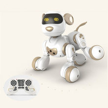 child educational learning toy remote control rc robot pet dog rc dog toy with led light speaking talking with child singing toy(China)