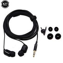 Alta qualidade 3m longo fones de ouvido com fio fone de ouvido monitor 3.5mm estéreo para xiaomi iphone 5 6 telefone