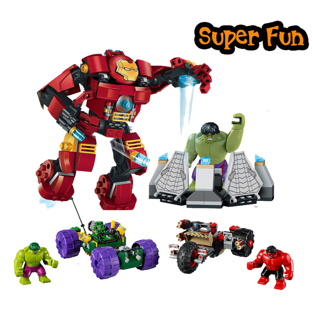Super Heroes Marvel DC The Avengers The Hulk Buster Smash Hulk vs ...