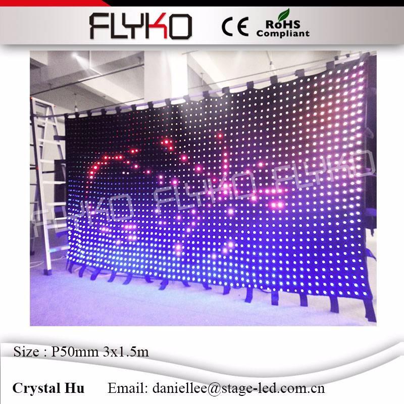 LED video curtain55