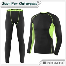 New Autumn Winter Thermal Underwear Set Men Brand Quick Dry Anti microbial Stretch Male Thermo Underwear