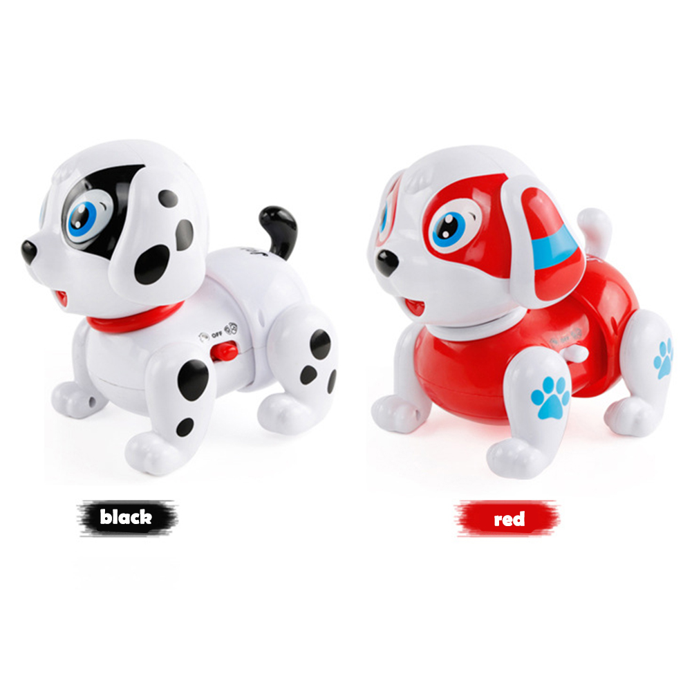 Интересный робот светящийся для собаки мигающий электронная собака для вечерние поставки Прямая