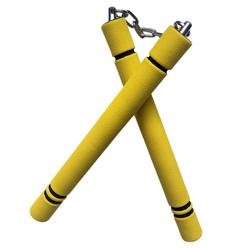 Foam Sponge Nunchaku Bruce Lee Kung Fu Nunchakus For Children Chinese Martial Arts WuShu Safety Training Fitness Equipment