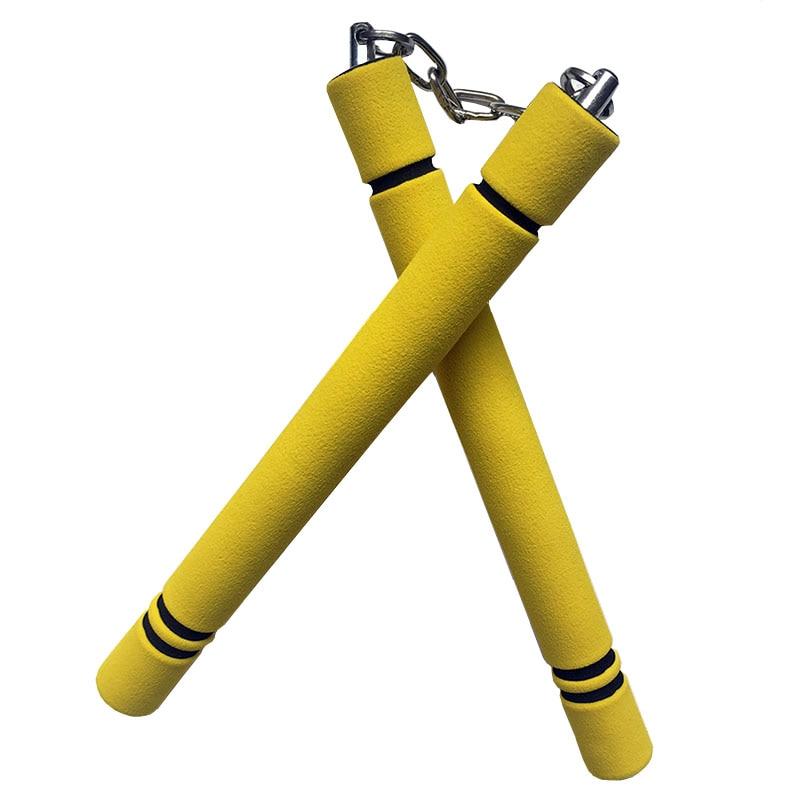 Foam Sponge Nunchaku Bruce Lee Kung Fu Nunchakus For Children Chinese Martial Arts WuShu Safety Training Fitness Equipment