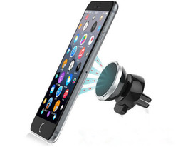 Bracket Magnetic Air Vent Mount Mobile Smartphone Stand Magnet Support Cell Cellphone Telephone Desk Tablet GPS Car Phone Hold