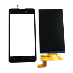 Wysokiej jakości dla BQ BQ 5035 aksamitna BQ 5035 BQ5035 BQS 5035 BQS 5035 wyświetlacz LCD + ekran dotykowy Panel z taśmy i narzędzia|Panele dotykowe do telefonów komórkowych|Telefony komórkowe i telekomunikacja -