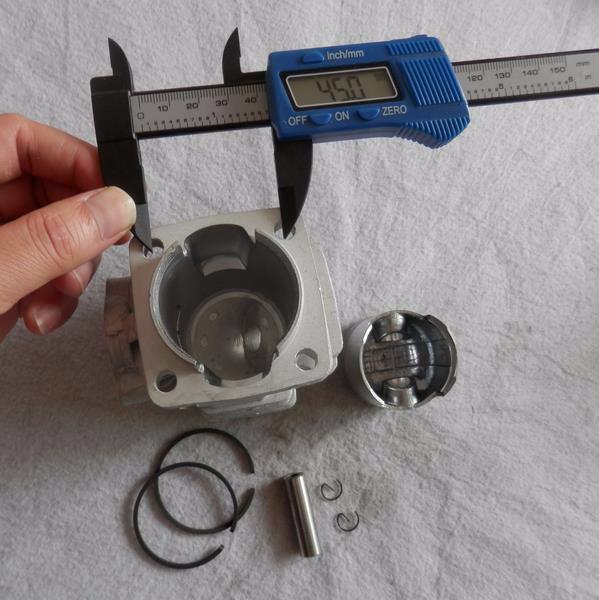 44 мм цилиндр комплект подходит робин nb500 триммер zylinder вт/комплект поршневых колец контактный клипы сборки