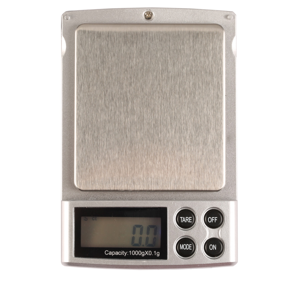1pcs 1000g x 0.1g Mini Electronic Digital Jewelry Pocket LCD Display Scale Balance Weight Weighing Scale mini smart weighting scale digital household body scale lcd display electronic weight balance health care new