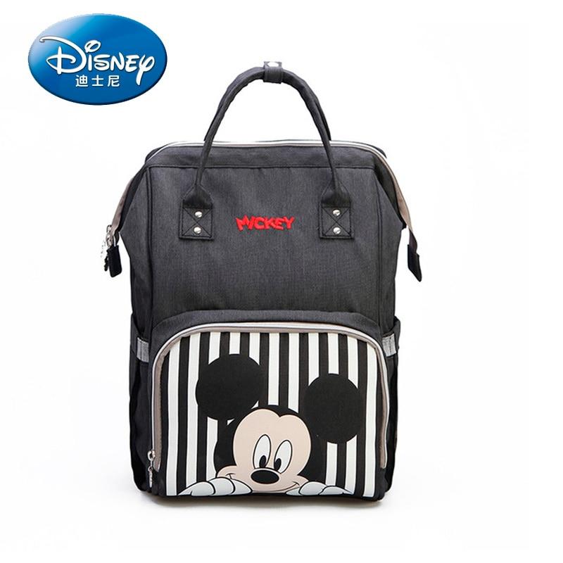 Disney Mickey Minnie Travel Diaper Bag Bolsa Maternidade Waterproof Stroller Bag USB Baby Bottle Warmer Mummy Backpack Nappy BagDisney Mickey Minnie Travel Diaper Bag Bolsa Maternidade Waterproof Stroller Bag USB Baby Bottle Warmer Mummy Backpack Nappy Bag