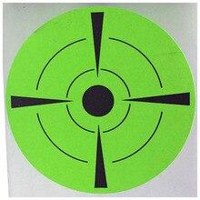 цена на 2019 New Trend Fluorescent Green Shooting Target Stickers (Qty 250 PCs 3