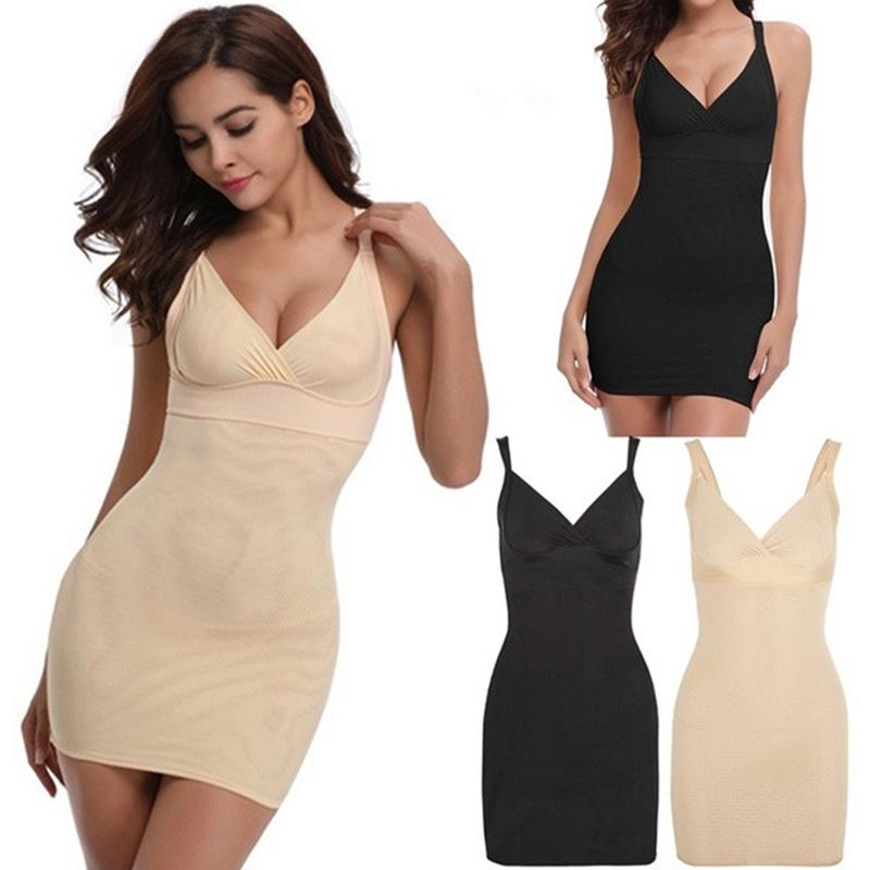 Bigsweety Sexy Full Body Shaping Underwear Bodysuit Dress Women Body Shaper Tummy Control Women Shapewear Plus Size 4XL