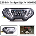 Motorcycle Accessories Integrated LED Tail Light Turn signal Blinker NEW Clear For YAMAHA FJ-09 MT-09 Tracer 2015-2016