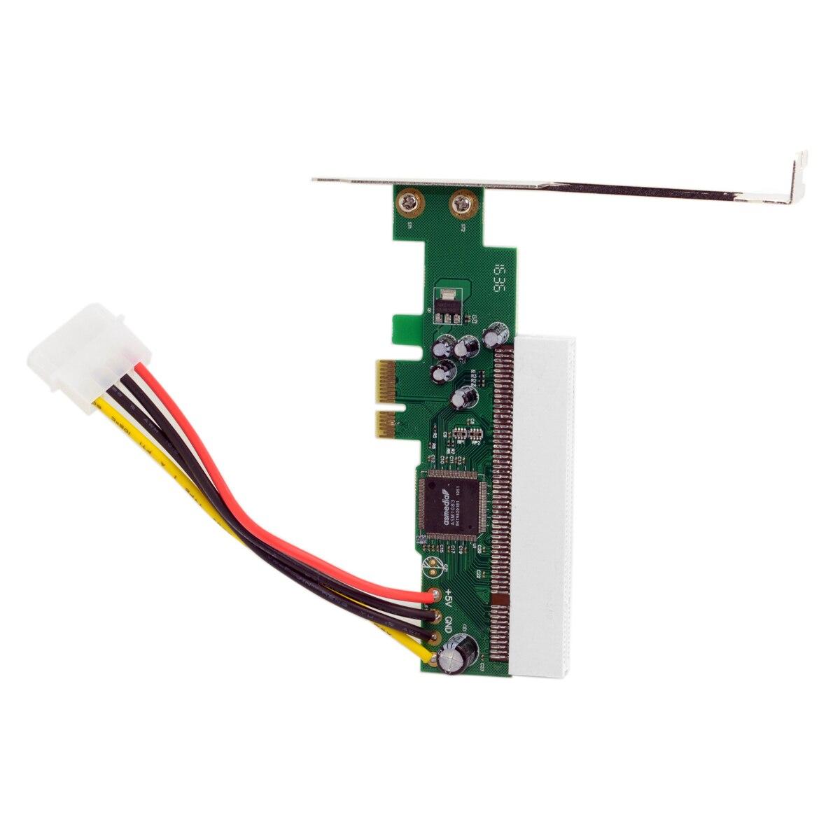 10 pièces/lot Chenyang pci-express PCIE PCI-E X1 X4 X8 X16 à PCI Bus Riser carte adaptateur convertisseur avec support pour Windows