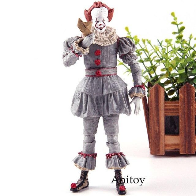 סטיבן מלך של זה Pennywise צלמית אימה PVC NECA צעצועי פעולה דמויות אוסף דגם צעצוע