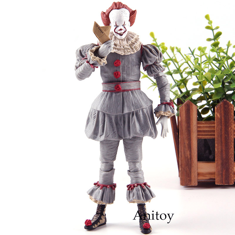 Stephen King's It Pennywise Figurine Horror PVC NECA Toys Action Figures Collection Model Toy
