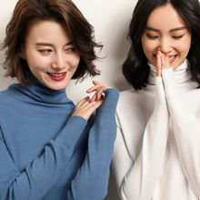 adohon 2018 womens winter Cashmere sweaters and auntmun women knitted Pullovers High Quality Warm Female Oneck Solid Casual