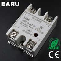 Solid State Relay SSR-60AA-H 60A 80-250V AC TO 90-480V AC SSR 60AA-H relay solid state Resistance Regulator