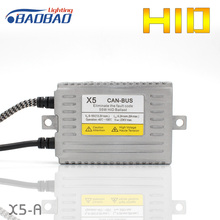 цена на HUJO DLT X5-A Full digital Canbus car HID Ballast 55W Decoder ASIC chip car styling xenon ballast free shipping