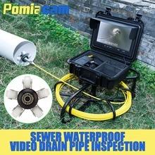 WP9600A 30 М камера для контроля слива и канализации канализационная труба видео инспекционная камера канализационная труба камера для инспекции видео