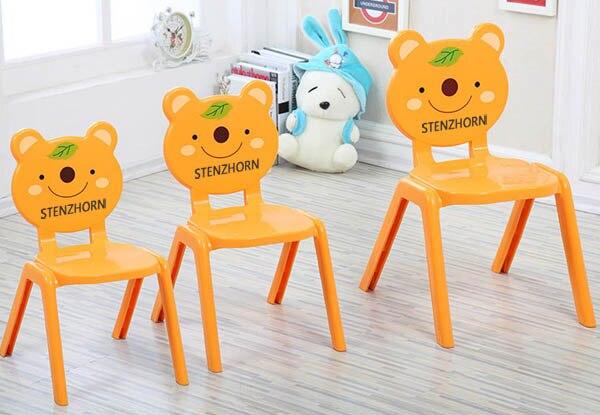 где купить 2017-2018 VIP!!!!!!Stenzhorn kindergarten children chair plastic chairs по лучшей цене