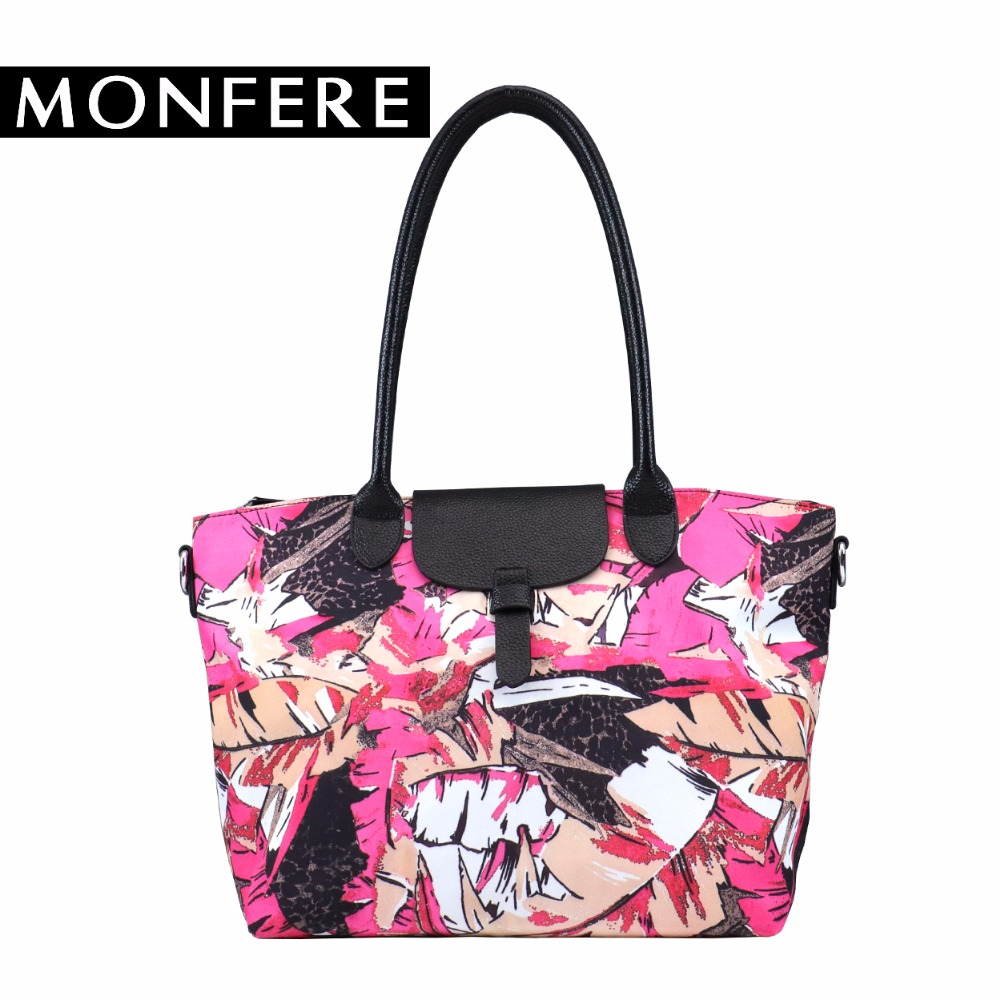 MONFER casual large women tote bag microfiber leather pillow shopping shoulder bags handbags famous brands crossbody nappy bag monfer genuine leather slim straw tassel bag casual tote cowhide top handle bags handbags women famous brands shoulder