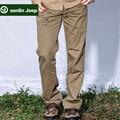 SenLin AFS JEEP del Hombre Casual Algodón Pantalones Rectos Flojos, de Color Caqui/Verde Del Ejército/Amarillo Plus Size militar zona de Carga Pantalones de Ocio