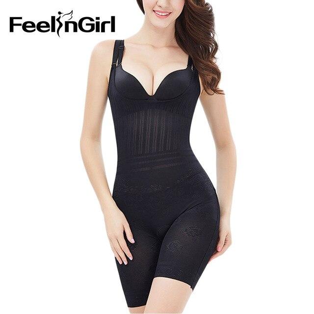 145cb9e3fc9 Feelingirl Women s Slimming Underwear Bodysuit Hot Body Shaper Waist Shaper  Shapewear Weight Loss Slimming Shaper XS-XXL B