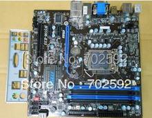 Original Desktop Motherboard  H55M-E33 /H55 chips support 1156 pins