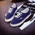 Ocasional de las mujeres de Moda Zapatos de Skate Femenino zapatos Planos de La Mujer Zapatos de Lona