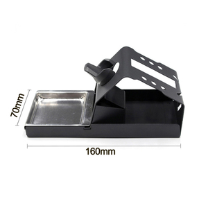 Image 3 - T12 Soldering Iron Station Stand Stable Welding Solder Iron Tips Holder with Insulation Pad Brass Wire Ball Tip Cleaner Sponge