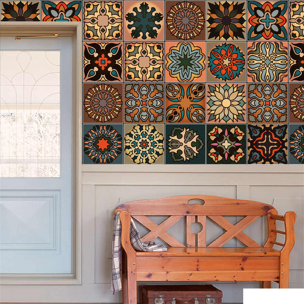 Moroccan Style Diy Mosaic Wall Tiles