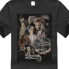cbe50ac12 Labyrinth Jim Henson David Bowie 25 Years Of Magic Licensed Adult T Shirt (China)